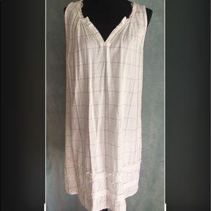 Knox Rose Cotton Sleeveless Dress Size M